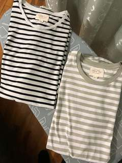 Men's Cotton On Crew T-Shirts 2 pack size XS