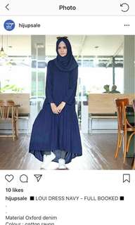 Gamis ema daily preloved