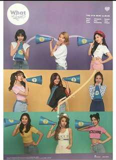 TWICE - what is love poster