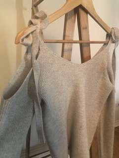 Jumper Knit Grey