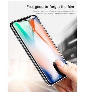 Baseus iPhone X 0.23 PET Soft All-Screen Anti-Bluelight 3D Tempered Glass Film