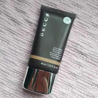 Authentic Becca Ever- Matte Shine Proof Foundation