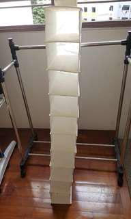 Ikea Skubb (10 Tier Storage) and Vacker (6 Tier Storage) -  (To be sold together)