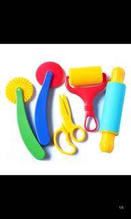 Play dough tools