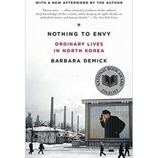 (ebook) Nothing to Envy Novel by Barbara Demick