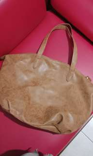 RUBI COTTON ON SUEDE BAG / TAS