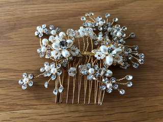 Hair accessories/ wedding /bling