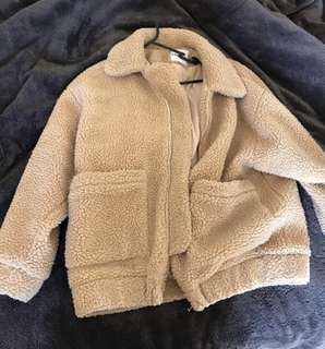 I AM GIA TEDDY JACKET