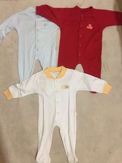 PRELOVED SLEEPSUIT BAYI 0-3MONTH