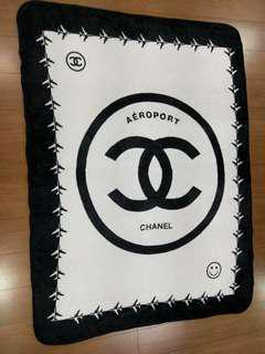 Chanel Blanket and Gucci Quilt throw