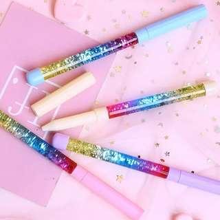 Instocks Glitter Pastel Gel Pen