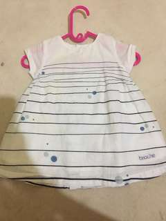 PRELOVED DRESS BAYI 0-3MONTH