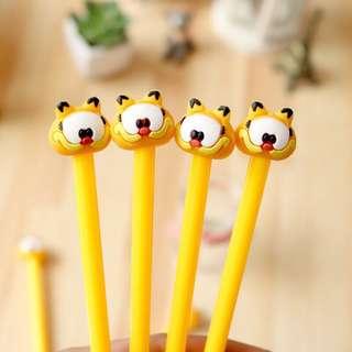 Instocks Garfield Cute Gel Pens Stationeries