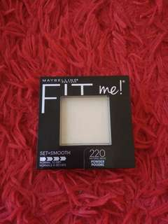 MAYBELLINE FIT ME PRESSED POWDER SET+SMOOTH