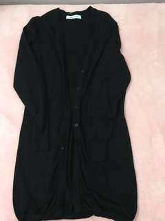 Long Black Cardigan