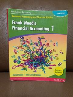 Frank Wood's Financial Accounting 1