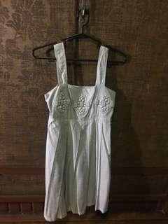 Silver Grey Sleeveless Party Dress