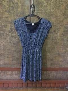 Triangle Print Dress