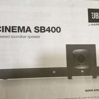jbl subwoofer cinema sb400