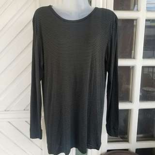 Imported Green & Black Stripes Longsleeves
