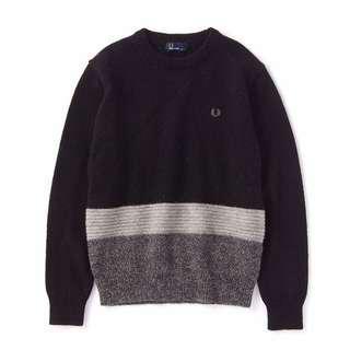 Fred Perry Bi-Colour Crewneck Sweater