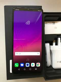 99%New LG G7+ Plus ThinQ 6GB 128GB Dual Black