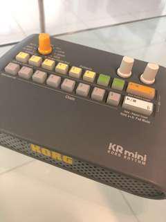 Korg KR Mini Rhythm Box Drum Machine