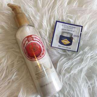 Body shop shimmer lotion