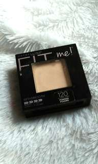 Maybelline fit me powder 120