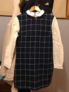 MBSKY winter dress one piece
