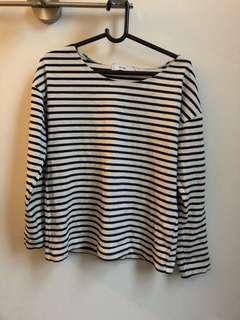 Ruby striped long sleeve