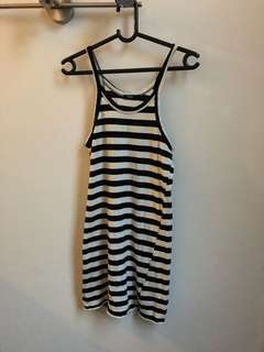 Bassike striped dress