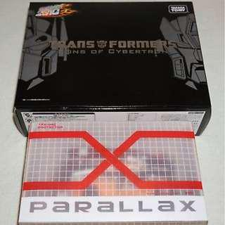 (冇 柯柏文 已開,整體約95%新) Takara Transformers Sons of Cybertron Optimus Prime & fansproject Rodimus Henkei Crystal Clear tfx 04c