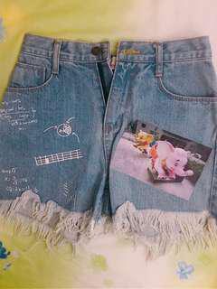 stylenanda 🇰🇷牛仔短褲🐘🐘