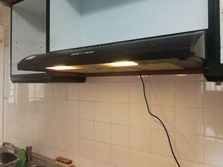 Turbo Cooking kitchen recycling Range hood gas fume