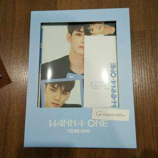 [FULL SET] Wanna One To Be One Ong Seung Wu Sky Version Full Set
