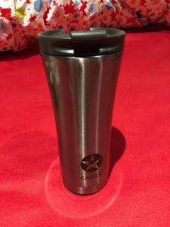 Steel stainless water bottle/coffee cup