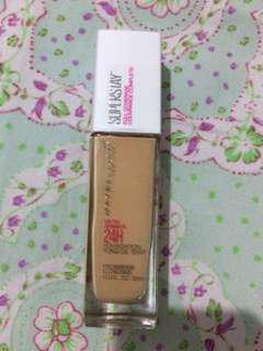 Maybelline Superstay 24H Full Coverage Foundation (128 WARM NUDE)