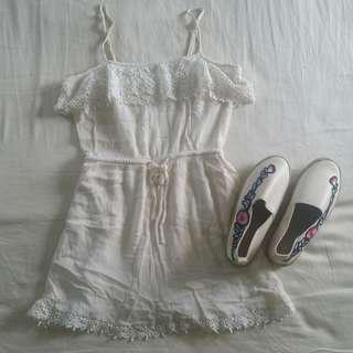 F21 dress & bnew shoes