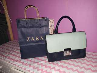 Zara Basic Satchel Bag