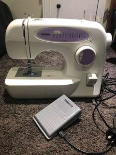 Brother Sewing Machine - As new