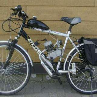 bicycle,自行車改裝,酒駕代步車,學生自組教學,腳踏車引擎改裝,自行車配件,代步車