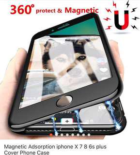 360 magnetic case for Iphone 7/8 Plus