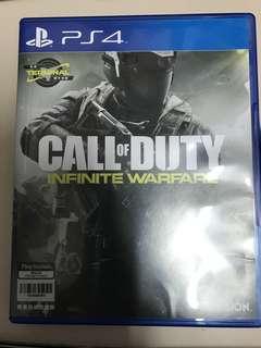 PS4 game: Call of Duty Infinite Warfare