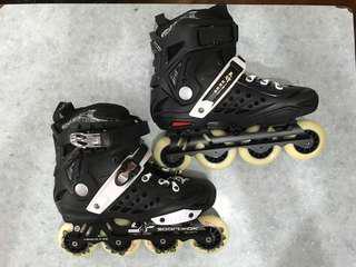 滾軸溜冰鞋 女裝 US6 可調教 全新品。