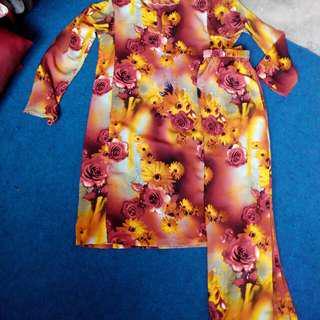 Baju kurung bunga2 #MY1010