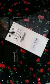 Stradivarius cherry dress FREE SF!!