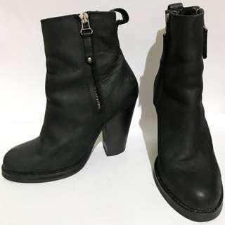 Topshop Leather Boots AUTHENTIC