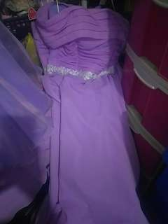 Five Bridesmaid Gowns used only once for sale