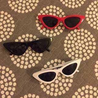 Cat eye sunglasses READY STOCK